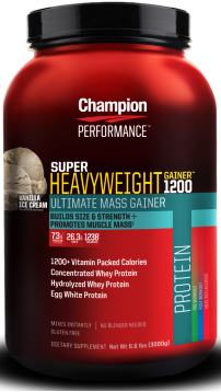 Champion Nutrition Super Heavyweight Gainer 1200 6.6LB (2996g)