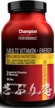 Champion MULTI-VITAMIN & ENERGY 90tablet 2本セット