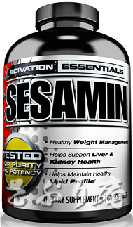 SCIVATION Sesamin 180softgels