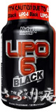 Nutrex RESEARCH LIPO-6 BLACK 120 Black 120caps