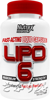 Nutrex LIPO-6 White Label 120 Liqui-Caps